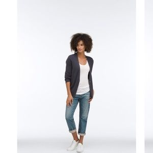 AG ADRIAN GOLDSCMHIED TOMBOY CROP RELAXED JEANS